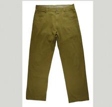 Ermenegildo Zegna Mens Corduroy Pants 34/30 Fashion Designer Made in Italy Fall