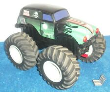 1990 Galoob Toys Big Scale Grave Digger Monster Truck Tuff Trax Works Perfect