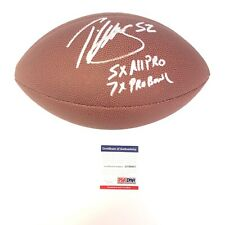 Patrick Willis Signed Autographed Football PSA/DNA 49ers With Inscriptions Rare