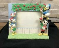 Vtg Disney Mickey Mouse Donald Duck Ducktails 3D picture Frame Photo