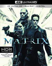 The Matrix 4K Ultra HD + Blu-ray + Digital + Slipcover | Keanu Reeves