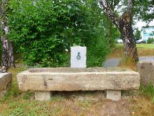 Alter Granittrog, Steintrog, Pflanztrog, Wassergrand, Granitbrunnen, antik