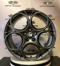 """KIT 4 Cerchi in lega Alfa Giulietta 18"""" + GOMME 225/40R18 PIRELLI P-ZERO NERO GT"""