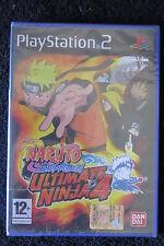 PS2 : NARUTO SHIPPUDEN ULTIMATE NINJA 4 - Nuovo, sigillato, ITA ! Capolavoro !