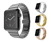 Apple Watch Edelstahl Armband Series 5/4/3/2/1 Gliederarmband 38mm/40mm Metall