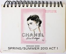 Chanel New Vintage Message Mode Runway Catalog Look Book SRPING/SUMMER 2013 Act1