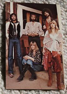 Fleetwood Mac authentic promo postcard