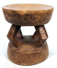 Art Africain - Ancien Tabouret Senoufo - Forme Symétrique Originale - 20 Cms