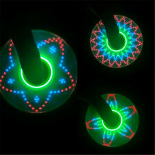 15 LED Stars Rainbow LED Light Hand Spinner Tri Fidget EDC Toy ADHD Autism IT