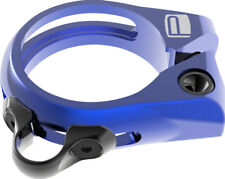 New Promax DP-1 Dropper Seat Post Clamp 34.9mm Blue