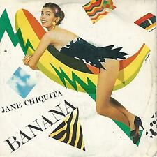 "JANE CHIQUITA "" BANANA "" 7"" OST FUTURO E' DONNA di MARCO FERRERI"