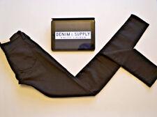 RALPH LAUREN New Super Skinny Black Trousers Chino Pants W25/26 - L34 - BNWT