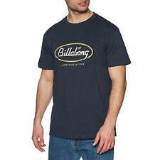 Billabong State Beach Camiseta De Manga Corta-Azul Marino Todas Las Tallas