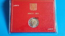 2 euro commémorative Vatican 2015 en coffret neuf