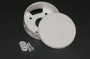 Deckenverteiler Baldachin Deckenleuchte Abdeckung Kabel Lampe weiß 1 Stück
