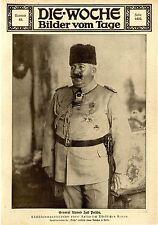 General Ahmed Izef Pascha 1917 *  WW1