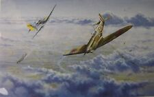 """""""Right of the Line"""" Graeme Lothian, Battle of Britain 1940 signed by ace pilots"""