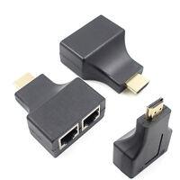 Digital1080p 3D HDMI Over RJ45 CAT5e CAT6 UTP LAN Ethernet Extender Repeater3LD