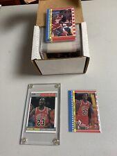 1987-88 FLEER BASKETBALL Complete Set W/ Stickers MICHAEL JORDAN 2ND YEAR CARDS