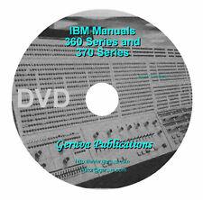 IBM 360 / 370 Manuals on DVD