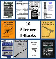 Suppressors Silencers Can Paladin Press Silenced Pistol Cookbook Firearm E  Book