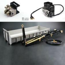 LESU 1/14 RC TAMIYA Metal Hydraulic Rod Bucket Control Valve Pump Dumper Truck