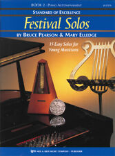 Standard of Excellence: Festival Solos Book 2 - Piano Accompaniment W37Pa