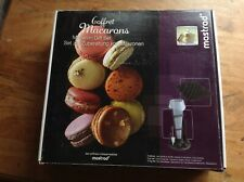 MASTRAD COFFRET MACARONS GIFT SET NEW UNUSED FULL SET - Box has marks