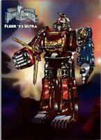 1994 1995 POWER RANGERS BLASTER CARD SET B1 /& B2 MEGAZORD TIGERZORD NS-254