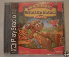 Jumpstart Wildlife Safari (PlayStation PS1) Brand New, Factory Sealed!