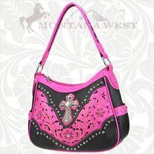 Montana West Womens Spiritual Fashion Handbag Quality Leather Purse QET8291HPK