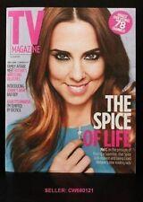 MELANIE C SPICE GIRLS COVER THE SUN TV MAGAZINE JULY 2012 NEW