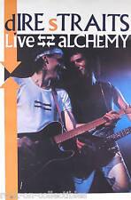 Dire Straits 1984 Alchemy (Live) Original Promo Poster