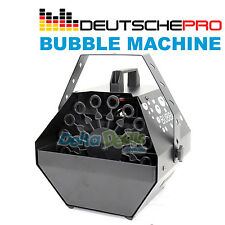 BUBBLE MACHINE DEUTSCHE PRO Blower Maker DJ Party Club Stage Effect Smoke Fog