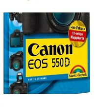 Canon EOS 550D Pocket Guide Klappkarte, Menue- & Bedienelemente, Markt & Technik