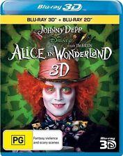 Alice In Wonderland (Blu-ray, 2011, 2-Disc Set)