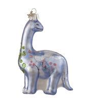 Apatosaurus Dinosaur Glass Ornament Prehistoric Animal NEW Brontosaurus,