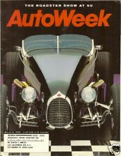AUTOWEEK – March 8, 1999 - THE ROADSTER SHOW AT 50