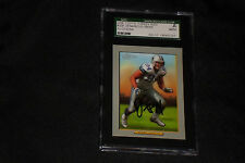 DeMARCUS WARE 2006 TOPPS TURKEY RED SIGNED AUTOGRAPHED CARD #208 SGC SLABBED