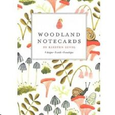 Woodland Notecards Set, NEW