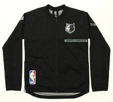Adidas NBA Boys Youth Minnesota Timberwolves On Court Jacket, Black