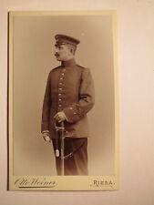 Riesa Lommatzsch 1901 Soldat Saupe ? als Einjährig Freiwilliger Arzt FAR 32 CDV