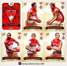 Select 2012 Sydney AFL Premiership Limited Edition Commemorative Set (25)