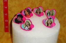 Barbie Sweet Sparkles Cupcake Ring,Plastic,DecoPac,Pink,1.25 Inch,Cupcake Topper