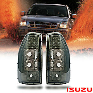 SMOKE LED TAIL LIGHT LAMP REAR FIT FOR ISUZU DMAX HOLDEN RODEO DENVER 2002-2005