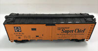 "CLEAN RUST FREE ATHEARN HO SCALE SANTA FE ""THE SUPER CHIEF""REEFER SFRD 8293"