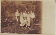Brazil Brasil Juiz de Fora - Family 1905 Cover to Rio real photo sepia postcard