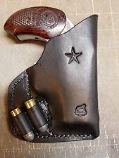 pocket holster for Bond arms derringer.. with ammo loops... read description!