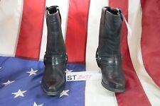 Stivali JOHNNY BULLS (Cod. ST2037) USATO N.40 UOMO pelle neri Texani Cowboy BIKE
