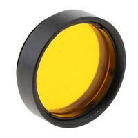 """MagiDeal Telescope Eyepiece Color Filter for Celestron Moon Sky 1.25"""" Orange"""
